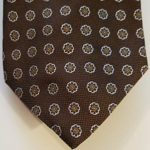 Brooks Brothers Makers Floral Design Silk Tie